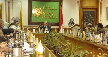 مجلس-عمداء-جامعة-المنيا:-نمتلك-بنية-تحتية-تكنولوجية-للتواصل-مع-الطلاب