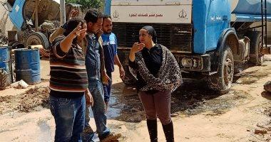 صور.-نائب-محافظ-جنوب-سيناء-تتابع-إزالة-آثار-الطقس-السيئ-وفتح-الطرق-الرئيسية