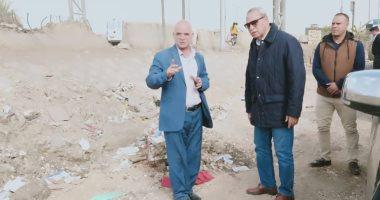 محافظ-القليوبية-يتابع-رفع-تراكمات-القمامة-بمدينة-بنها-وأعمال-تطوير-حى-شرق-شبرا