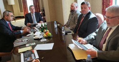 وزير-البترول-يجتمع-مع-رئيس-رانسون-الأمريكية-لبحث-رغبة-الشركة-العمل-فى-مصر