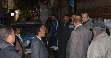 صور.-نائب-محافظ-المنيا-يتابع-تنفيذ-القرارات-الصادرة-بغلق-المطاعم-والمقاهى