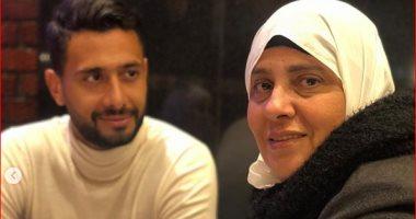 """أحمد-عادل-يحتفل-بعيد-ميلاد-والدته:-""""كل-سنة-وأنتى-طيبة-يا-غالية"""""""
