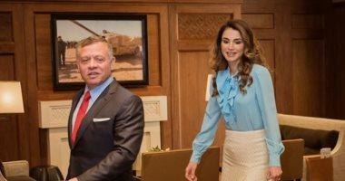 هدايا-ملكة-من-ملك-الأردن-وزوجته-لعروسان-في-الحجر-الصحي-بالبحر-الميت