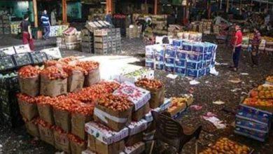 صورة سوق العبور ليس من قرارت الغلق وانه يعمل على مدار 24 ساعه