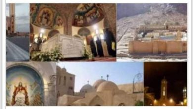 صورة منسق الأراخنة والحكماء بالمنيا : رهبان الأديرة يطلبون الخدمة بالحجر الصحي شديد الخطورة