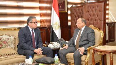صورة وزيرا التنمية المحلية والسياحة والآثار يبحثان عدد من ملفات التعاون بين الجانبين في المحافظات