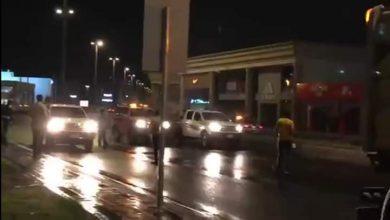 صورة بالفيديو يحدث الآن بشوارع المدينة المنورة