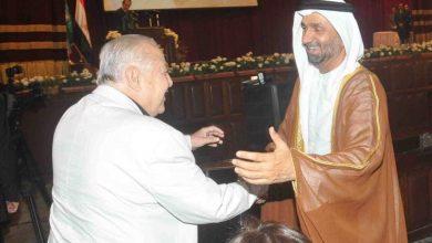 صورة رئيس المجلس العالمى للتسامح والسلام ينعى الاعلامي المصري سعيد عماره