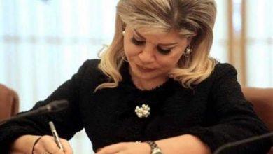 صورة رسالة وزيرة التنمية من الحجر الصحي لجنود الصف الأول