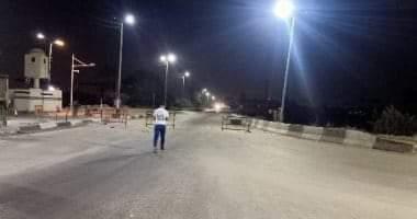 صورة بدء حظر التجوال في البلاد لليوم الرابع وانتشار شرطي مكثف في الشوارع