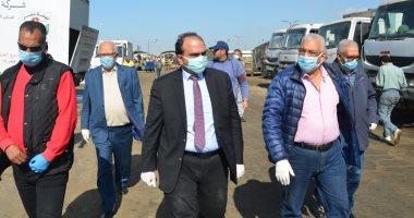 صور.نائب-محافظ-الاسكندرية-يتفقد-إجراءات-السلامة-فى-معالجة-المخلفات-الطبية
