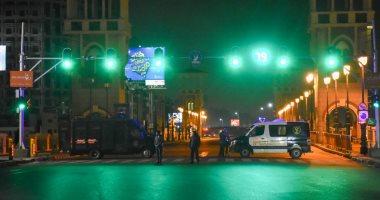 التزام-المواطنين-بحظر-التجوال-بالإسكندرية-والأمن-يكثف-تواجده