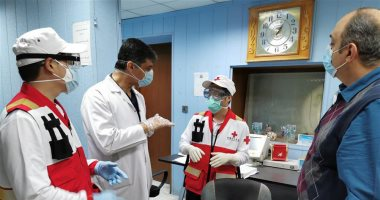 فريق-طبى-صينى-فى-العراق-للمساهمة-فى-مكافحة-كورونا.-صور