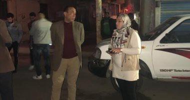 حملات-نظافة-وتطهير-لشوارع-مدينة-المحلة-أثناء-حظر-التجوال