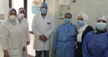 تدريب-العاملين-بمستشفيات-بني-سويف-على-التعامل-مع-المشتبه-فى-إصابتهم-بكرونا