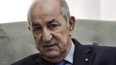 صورة الرئيس الجزائري عبد المجيد تبون سنفحص هويات العالقين بتركيا