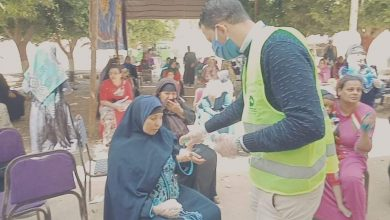 صورة مستقبل وطن المنيا : ينظم صرف المعاشات لليوم الاول للمستحقين بالمنيا