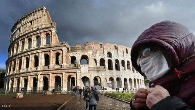 صورة تراجع وفيات كورونا في إيطاليا