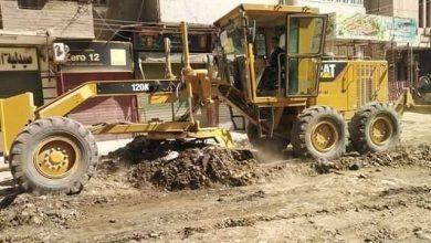 صورة وقف 3حالات تعدي علي أملاك الدولة بمركز ملوي بالمنيا