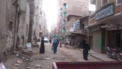 صورة فض أحد الأسواق الإسبوعية بمركز مغاغه بالمنيا