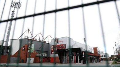 صورة نادي بورنماوث لكرة القدم بعد الإعلان عن تأجيل جميع مباريات