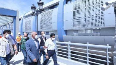 صورة وزير النقل يجرى جولة تفقدية في مواقع تنفيذ المرحلة الرابعة للخط الثالث لمترو الأنفاق والقطار الكهربائي