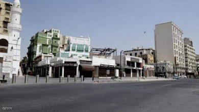 صورة شوارع مدينة جدة تخلو من الماره بسبب وباء كورونا