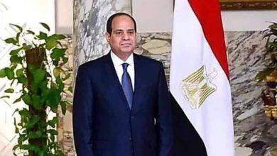 صورة الرئيس السيسى : مصر حكومة وشعبا تتضامن مع حكومات وشعوب العالم فى محاربة فيروس كورونا