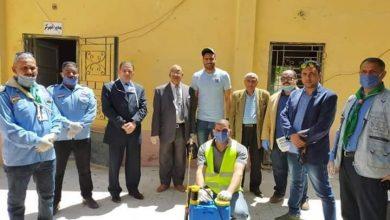 Photo of أبو جبل متطوعا ضد الكورونا