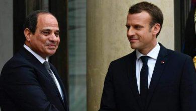 """صورة اتصالاً هاتفياً من """"ماكرون"""" إلى """"الرئيس عبد الفتاح السيسي"""" حول سبل التعاون المشترك إزاء أزمة فيروس كورونا"""