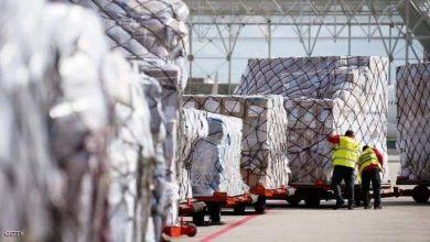 """صورة ايرباص"""" تنقل 4 ملايين قناع طبي من الصين إلى أوروبا"""