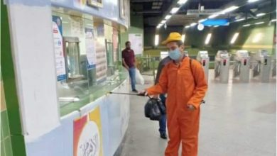 Photo of شاهد السكة الحديد ومترو الأنفاق يستكملان إتخاذ كافة الاجراءات للوقاية من فيروس كورونا