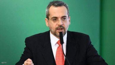 صورة وزير التعليم البرازيلي اتهم الصين بمحاولة السيطرة على العالم