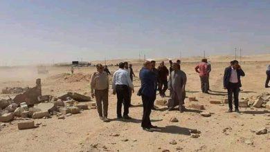 صورة محافظ المنيا : استرداد 346 فداناً خلال حملات كبيرة بـ 3 مراكز بالمنيا
