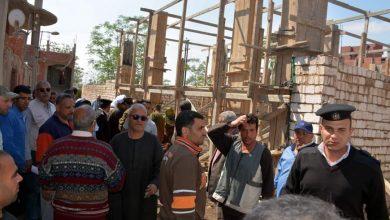 صورة محافظ القليوبية يقود حملة إزالة للتعديات على الأراضي الزراعية بقرية مرصفا مركز بنها