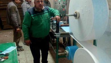 صورة الفنان محمود البزاوى: انا فخور بتصنيع الكمامات الطبية بالمحلة