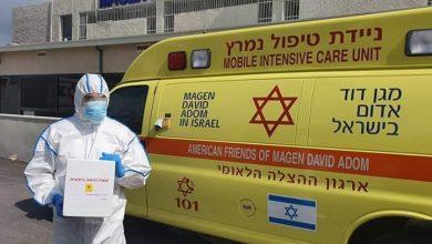 """صورة """" اللي ميتسموا"""" ارتفاع وفيات فيروس كورونا لـ ٧٢ حالة والإصابات تبلغ ٩٤٠٤ إصابة بإسرائيل"""