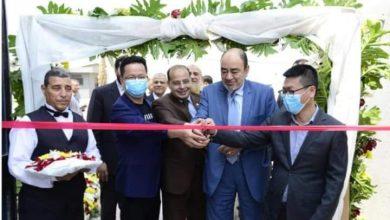 صورة شاهد افتتاح أحدث مصتع لإنتاج الماسك الطبي باستثمارات مصرية صينية
