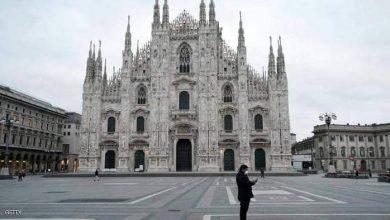 صورة رسالة من ميلانو الإيطاليةللدول العربية الشائعات تقاتل مع كورونا