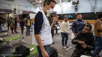 صورة اللاجئين في فرنسا من داخل الصالات الرياضية قنبلة كورونا موقوتة