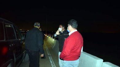صورة محافظ القليوبية يقوم بجولة مفاجئة مساء امس الجمعة لمتابعة الالتزام بحظر التجوال بمدينة الخانكة