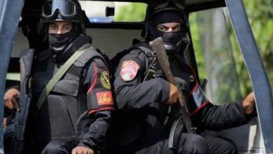 صورة قوات الأمن تجوب شوارع مدينة المنصورة