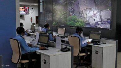 صورة من داخل غرفة المراقبة في مومباي تكنولوجي لتجنب قنبلة مومباي البشرية