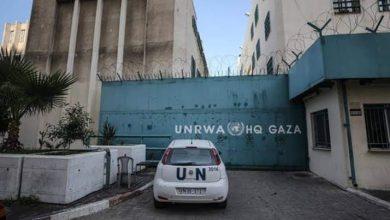 """صورة """"الأنروا"""" تشيد بإدارة السلطة الفلسطينية لأزمة الكورونا"""