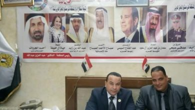 صورة رئيس منظمة الشعوب والبرلمانات العربية يُهنئ الشعب المصري ، والآمه الإسلامية بشهر رمضان المبارك .