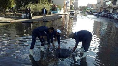 صورة بيارة الصرف الصحى بالعدوة مركز ادفو تبتلع شخصين حاولا تنظيفها