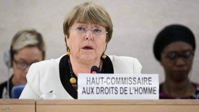 صورة باشليه أعربت عن خشيتها من كارثة على حقوق الإنسان بسبب كورونا