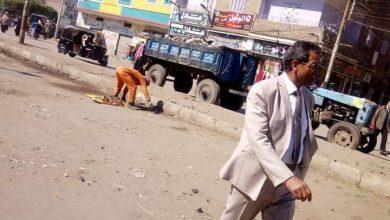 صورة نصر يوجه بتكثيف أعمال النظافة والتجميل بأولاد صقر