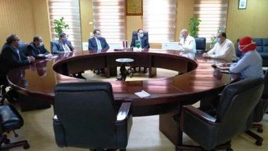 صورة تشكيل لجنة عليا للصحة والوقاية لمواجهة كورونا بمحافظة الشرقية