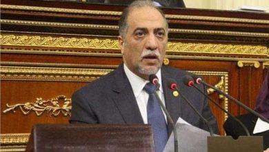 صورة رئيس ائتلاف دعم مصر ينعى شهداء الحادث الارهابى ببئر العبد
